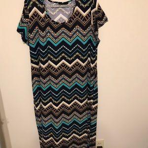 ⚡️ Multi Print Maxi Dress ⚡️